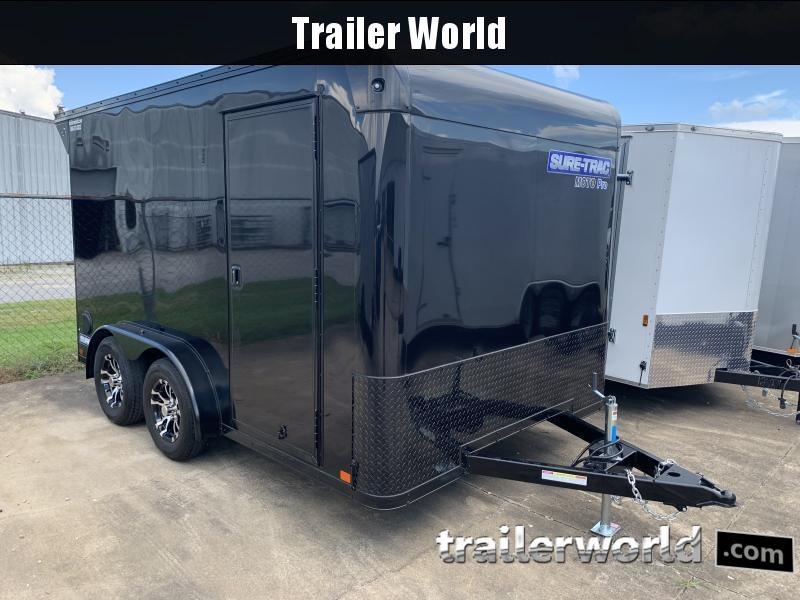 2021 Sure-Trac Moto Pro 7.5 x 12 Enclosed Cargo Trailer