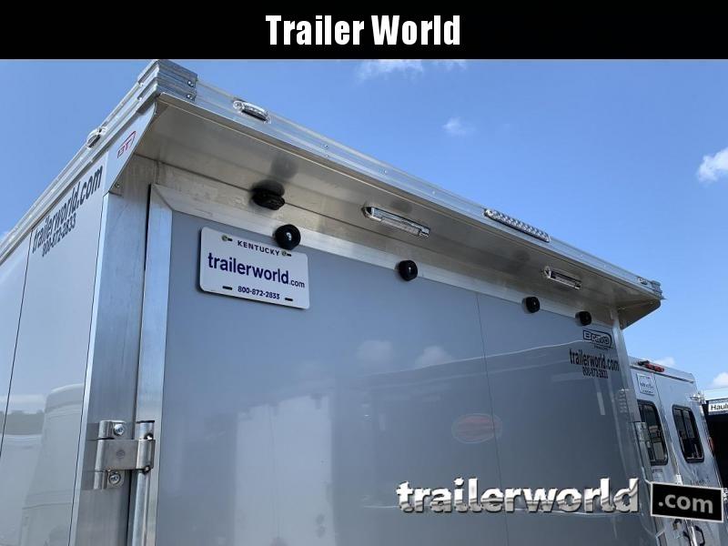 2021 Bravo Star 24' Aluminum Enclosed Car Trailer w Full Access Door