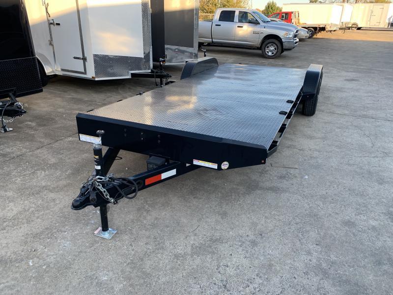 2016 Sure-Trac 22' Steel Deck Car Hauler Trailer 10k GVWR
