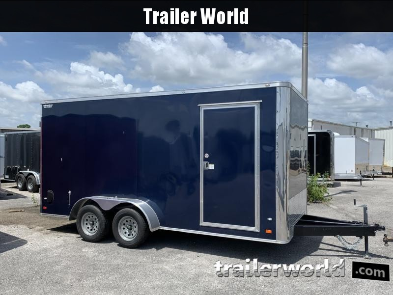 2020 CW 7' x 16' x 7' Enclosed Cargo Trailer Double doors