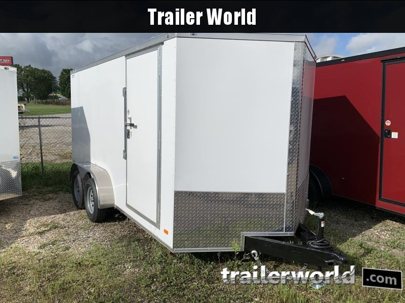 2021 CW 7' x 14' x 6.5' Vnose Enclosed Trailer