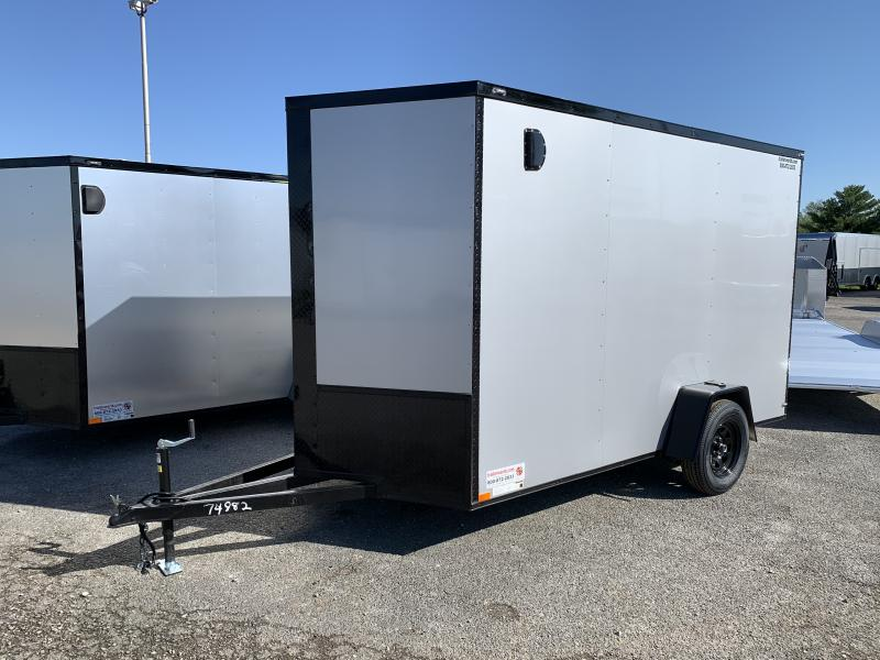 2021 74982 6' X 12' X 7' Enclosed Cargo Trailer
