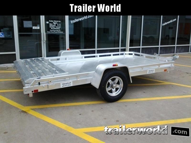 2021 Aluma 7712H BT 12' Aluminum Utility Trailer