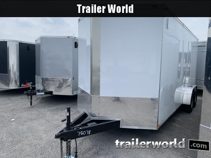 2021 75078 7 X 18'TA Enclosed Cargo Trailer