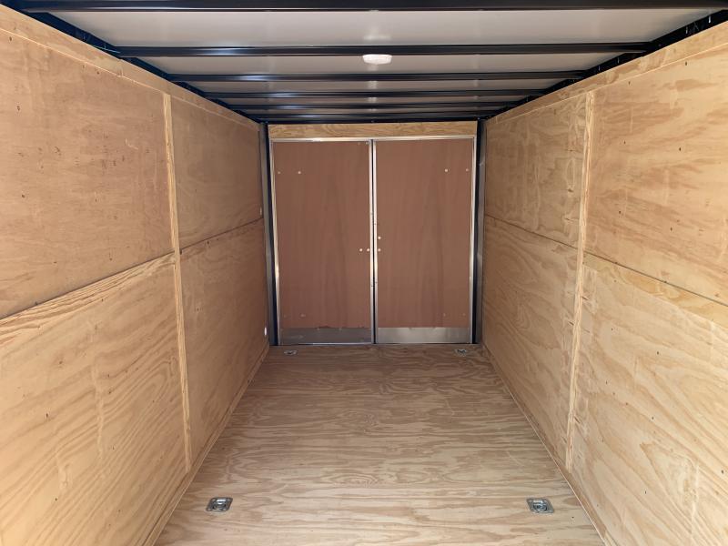 2021 75078 7 X 18'TA Double Doors Enclosed Cargo Trailer