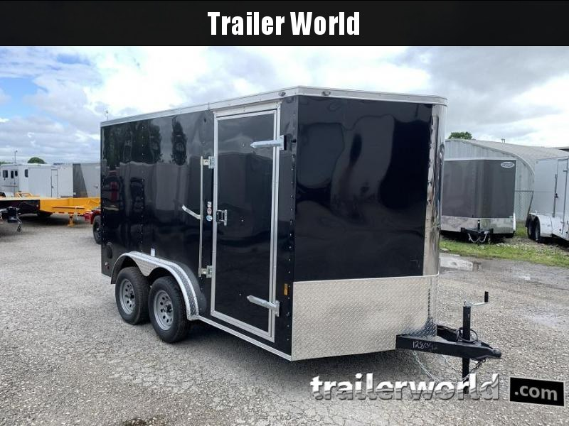 2021 Continental Cargo 7.5' x 12' x 6.3' Enclosed Cargo Trailer
