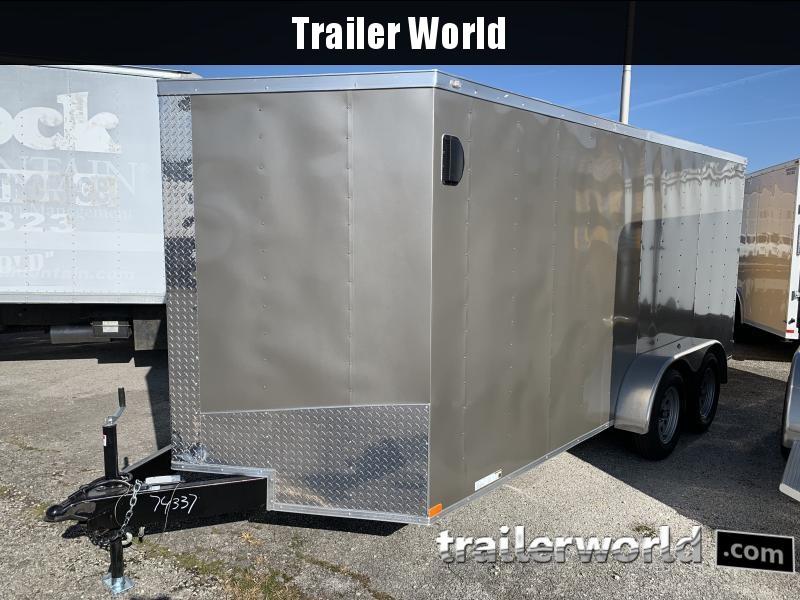 2021 Lark 7' X 16'TA Enclosed Cargo Trailer