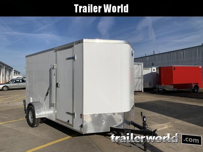 2020 Continental Cargo 6' x 12' x 6.3' Enclosed Cargo Trailer