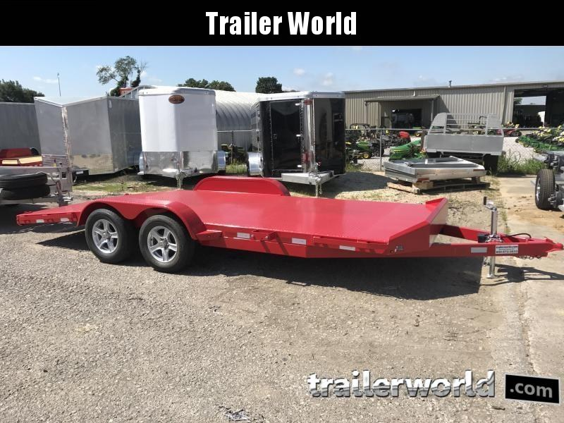 2021 Sure-Trac 20' Steel Deck Open Car Hauler Trailer