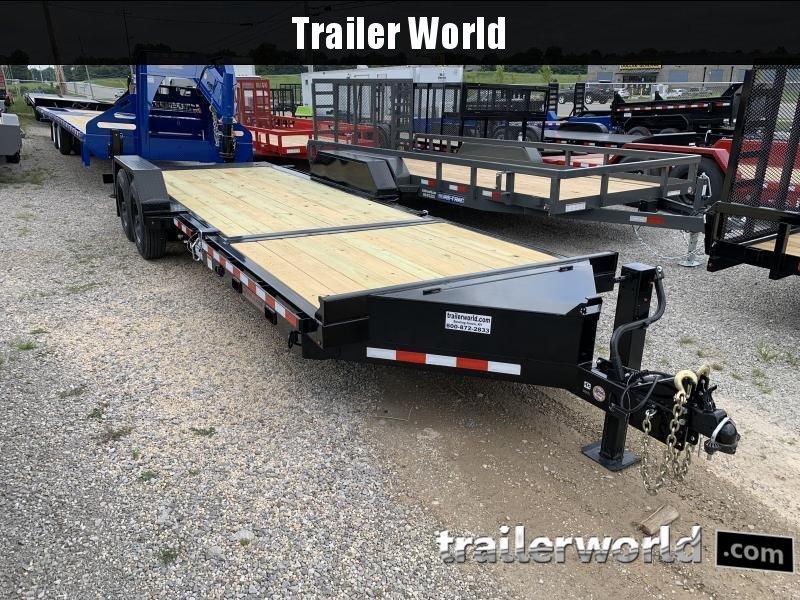 2021 Midsota TB 22 Split Deck Tilt Equipment Trailer