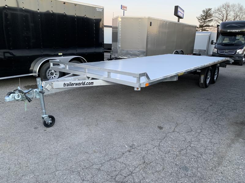 2021 Aluma 1024H Aluminum Deck Over Equipment Trailer