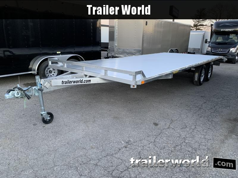 2021 Aluma 1024H Aluminum Deck Over Equipment Trailer