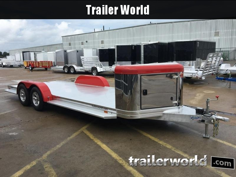 2019 Sundowner ULTRA Aluminum Open Car Hauler Trailer 22'