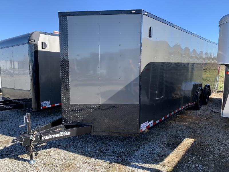 2021 Lark 8.5' X 28'TA Car / Racing Trailer