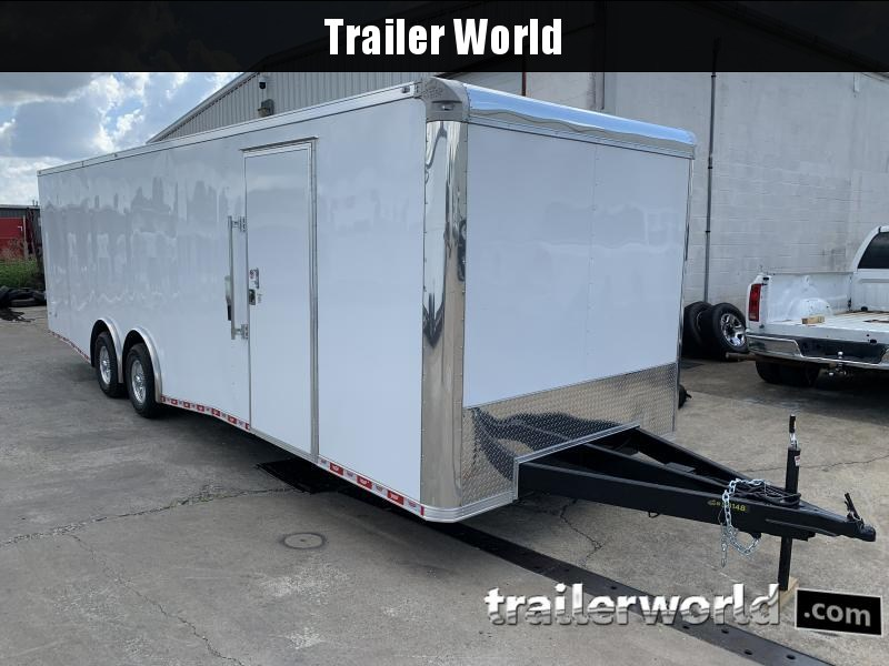2020 CW 28'  Enclosed Car Trailer 7' Tall 14k GVWR
