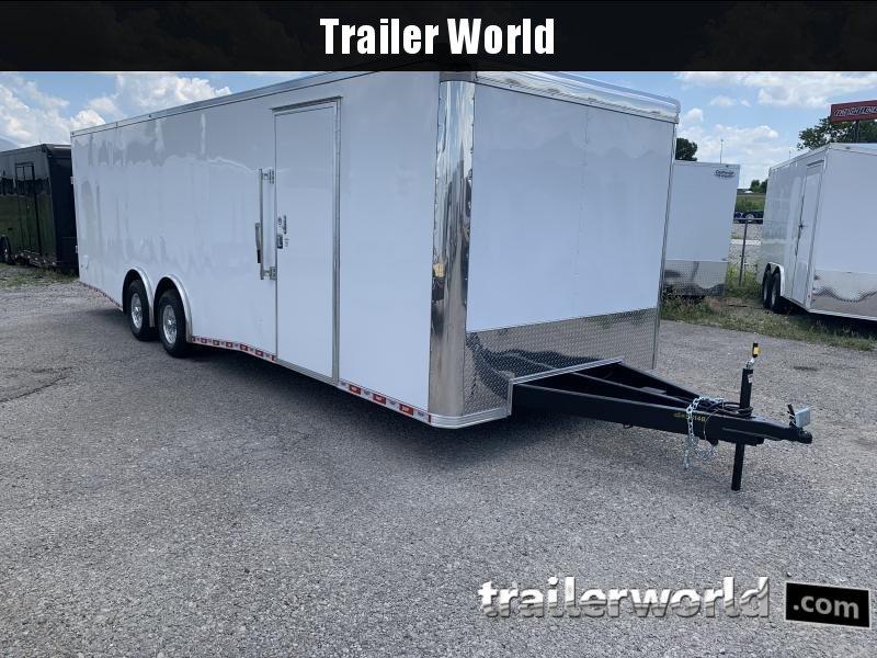 2020 CW 28'  Enclosed Car Trailer 7' Tall 14k GVWR