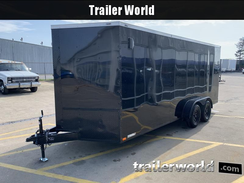 2021 74261 7X18TA Enclosed Cargo Trailer