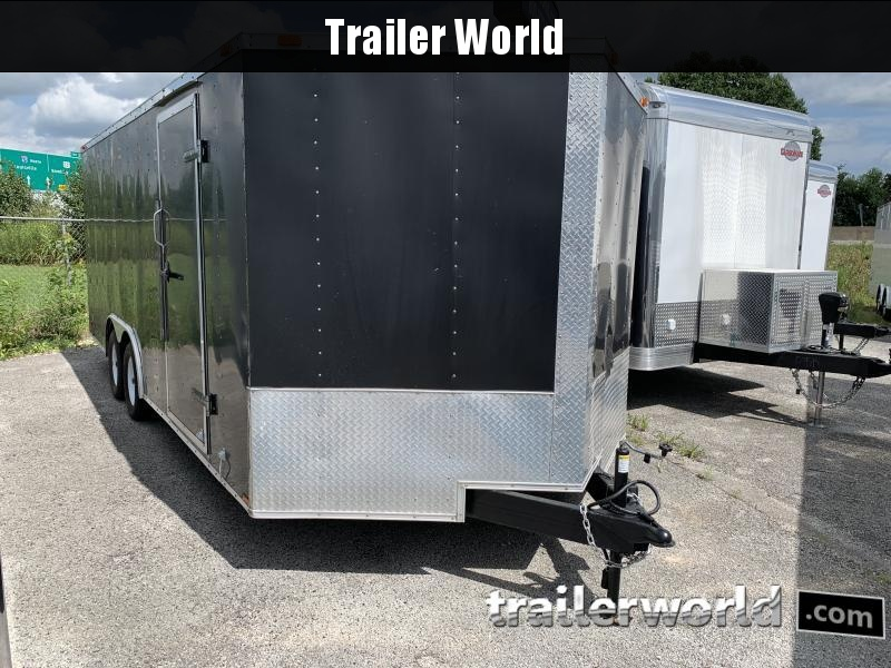 2007 Frontier UT Enclosed Cargo Trailer