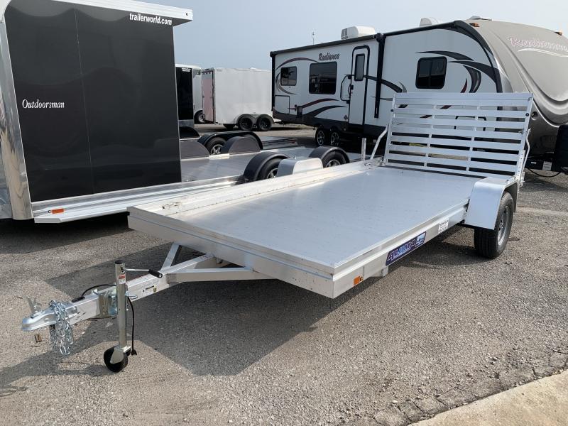 2021 Aluma 7814H 14' Aluminum Utility Trailer