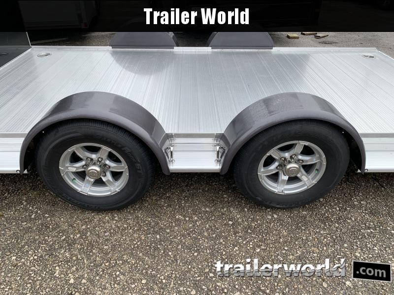 2021 Sundowner Outdoorsman 20' Aluminum Enclosed / Open Trailer