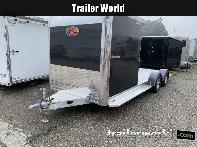 2021 Sundowner Outdoorsman 20' Aluminum Enclosed / Open Trailer