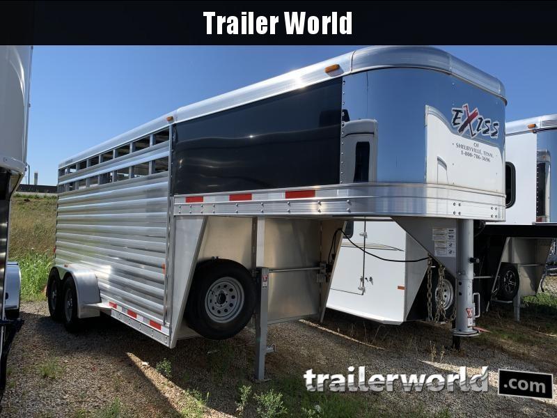2019 Exiss Trailers 16' Livestock Trailer