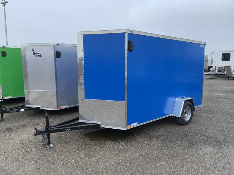 2021 Lark 6X12SA Enclosed Cargo Trailer