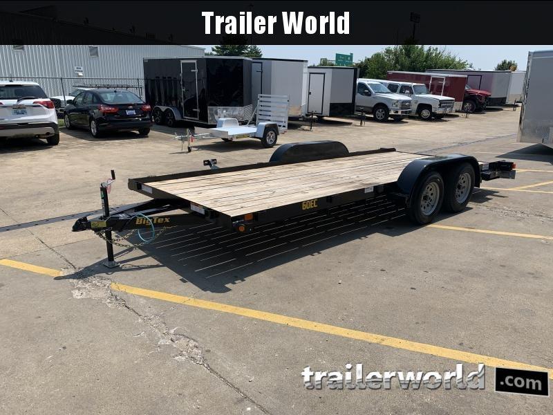 2021 Big Tex Trailers 60EC 18' Flatbed Trailer