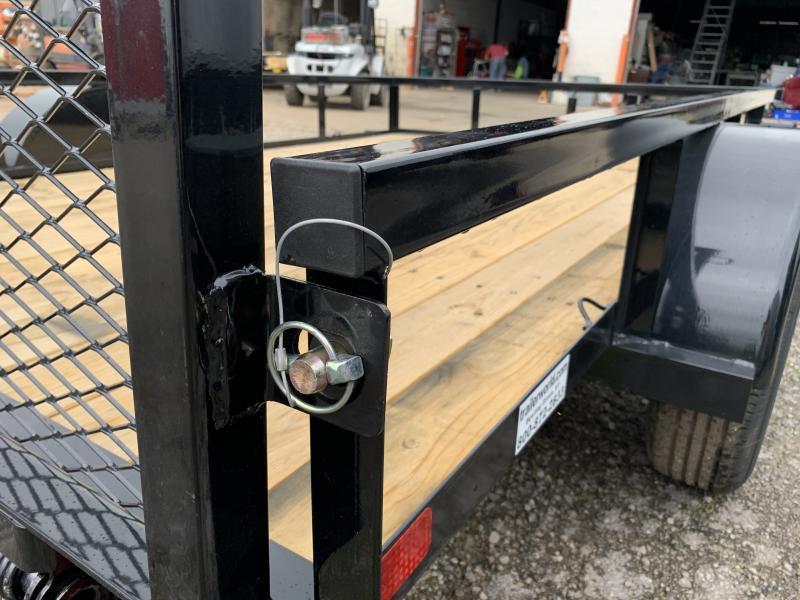 2021 Big Tex Trailers 35SA 10' Utility Trailer