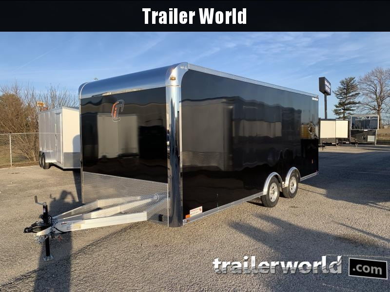 2021 inTech  20' Lite Aluminum Enclosed Car / Race Trailer