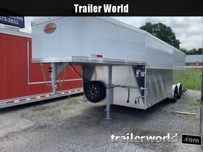2022 Sundowner 32' Aluminum Gooseneck Commercial Duty Cargo Trailer