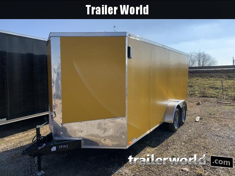 2021 Lark 7X16TA Enclosed Cargo Trailer