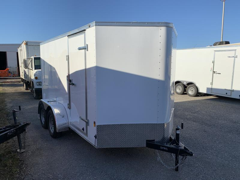 2021 Continental Cargo 6.5' x 12' x 6.3' Enclosed Cargo Trailer