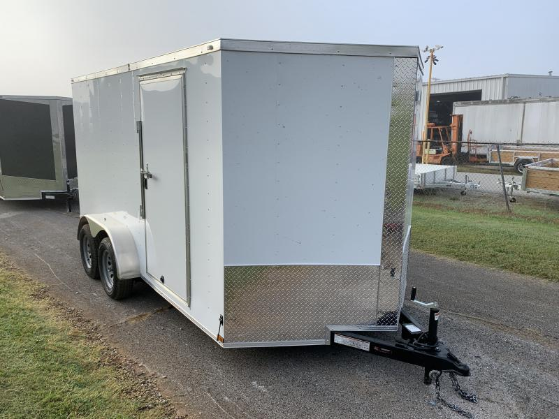 2021 Lark 7' x 14' Enclosed V Nose Cargo Trailer