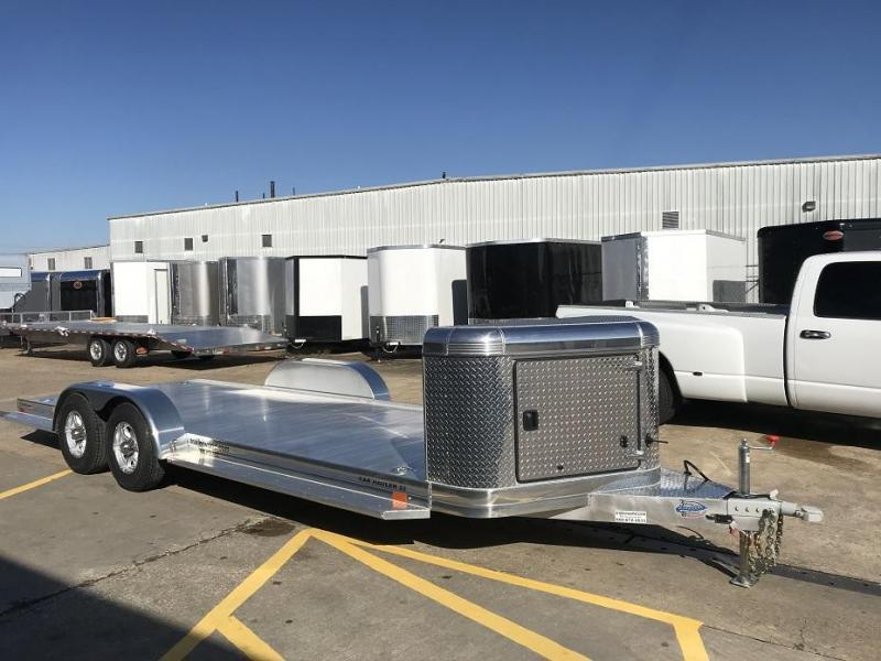 2021 Sundowner Ultra Aluminum 22' Tapered Front Open Car Hauler Trailer