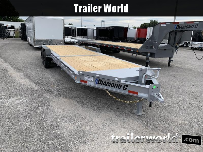 2021 Diamond C HDT 8' + 16' Tilt Bed 10 Ton Equipment Trailer