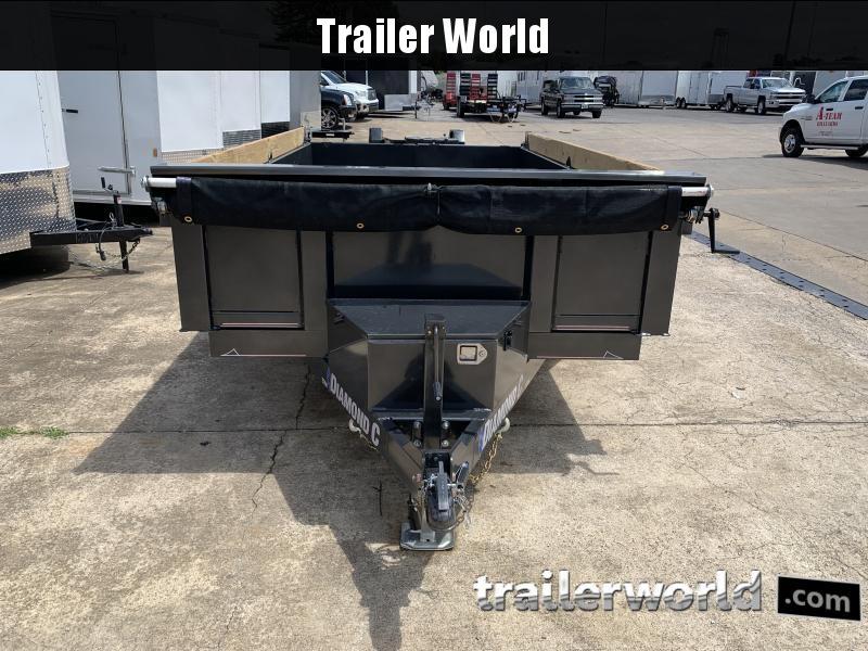 2021 Diamond C EDM 77 x 12' Dump Trailer 10k GVWR