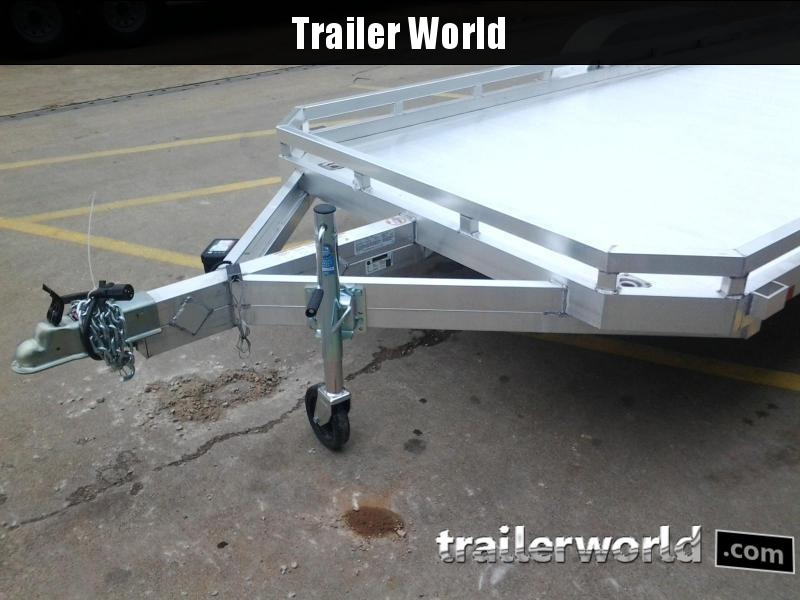 2021 Aluma 7816 16'  Aluminum Open Utility Trailer