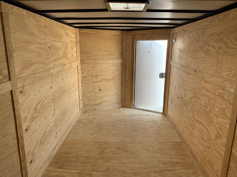 2022 28912 7 x 16'TA Enclosed Cargo Trailer