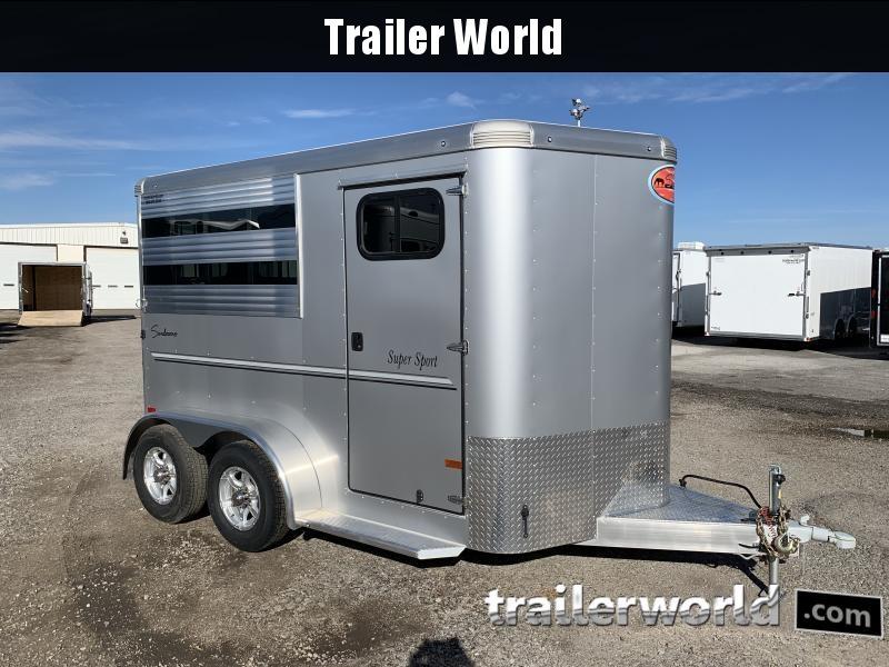 2022 Sundowner Super Sport 2 Horse Bumper Pull Trailer