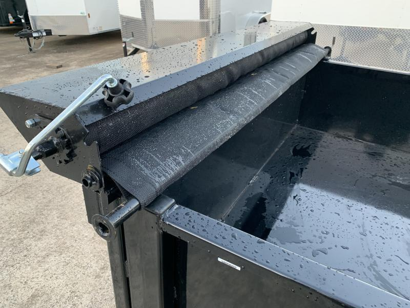 2022 Quality Steel 5' x 8' Dump Trailer
