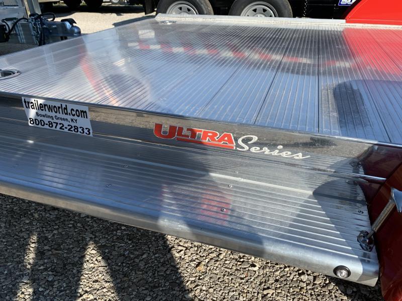 2021 Sundowner Ultra Aluminum 22' Tapered Front Open Car Hauler Trailer