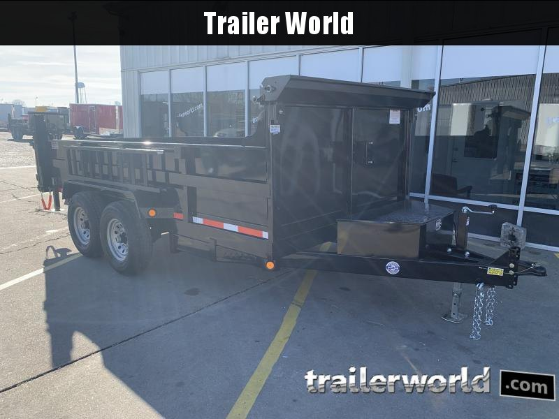 2021 Quality Steel 14 Dump Trailer 14K GVWR
