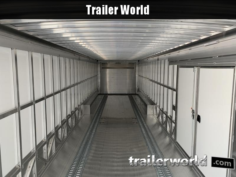 2021 Sundowner 48' Aluminum 2 Car Enclosed Gooseneck Car Trailer