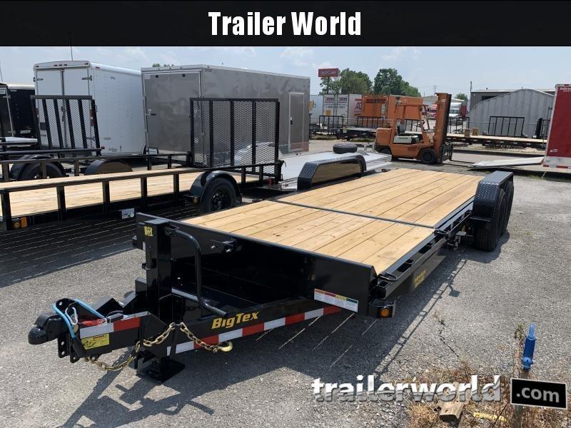 2022 Big Tex Trailers 14TL-22' BK Equipment Trailer