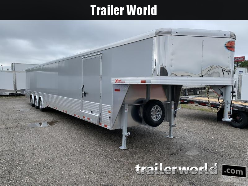 2021 Sundowner Trailers 48' Aluminum Enclosed 2 Car Trailer