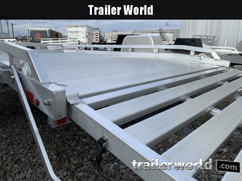 2021 Aluma 7710BT 10'  Aluminum Open Utility Trailer