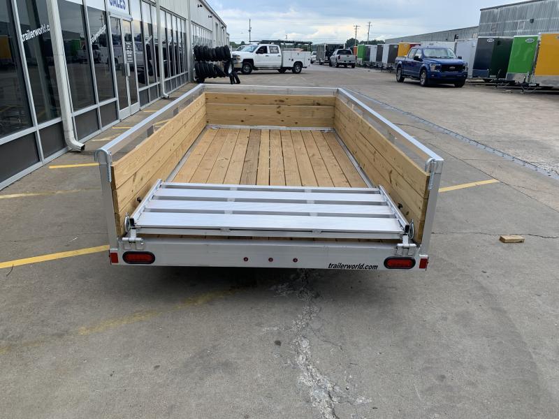 2021 Sure-Trac 6 X 12 Aluminum Tube Top Three Board  3K