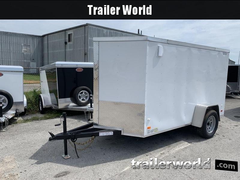 2020 CW 5' x 10' x 5.5' Vnose Enclosed Cargo Trailer Ramp Door