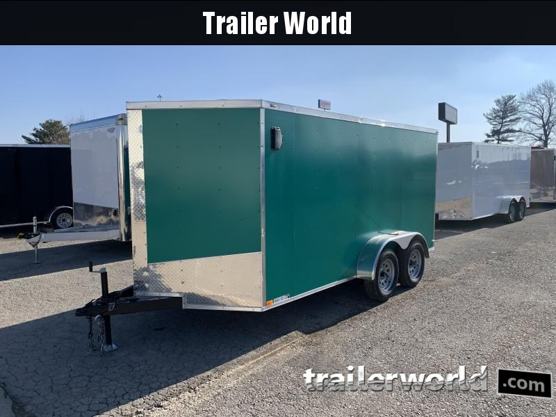 2021 Lark 7x14'TA Enclosed Cargo Trailer